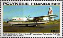 [Airmail - Planes used in Polynesia, Typ JZ]