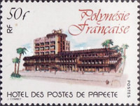 [The Opening of the New Post Office Building in Papeete, Typ KH]