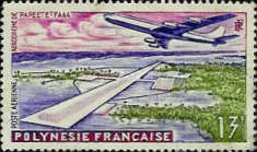 [Airmail - Papeete Airport, Typ M]