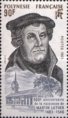 [The 500th Anniversary of the Birth of Martin Luther, Protestant Reformer, Typ NJ]