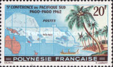 [The 5th Anniversary of the South Pacific Conference - Pago Pago, Typ P]