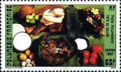 [Polynesian Food Dishes, Typ QR]
