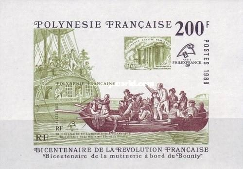 [The 200th Anniversary of the French Revolution and the Mutiny on the