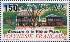 [The 100th Anniversary of the Township of Papeete, type TT]