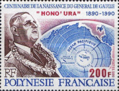 [The 100th Anniversary of the Birth of Charles de Gaulle, French Statesman, type TY]