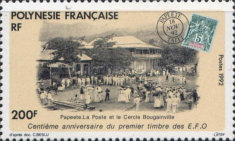 [The 100th Anniversary of the First French Oceanic Settlements Stamp, Typ WD]