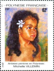 [Artists in Polynesia - Paintings, Typ XX]