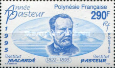[The 100th Anniversary of the Death of Louis Pasteur, Chemist, Typ YI]