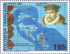 [The 400th Anniversary of the Discovery of Marquesas Islands, Typ YQ]