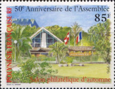 [The 50th Anniversary of the Territorial Assembly and the Autumn Stamp Salon, Typ ZV]