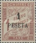 [French Postage Due Stamps Surcharged, type A5]