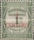 [French Postage Due Stamps Surcharged, type B]