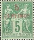 [French Postage Stamps Surcharged, Typ A1]