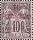 [French Postage Stamps Surcharged, Typ A3]