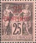 [French Postage Stamps Surcharged, Typ A5]