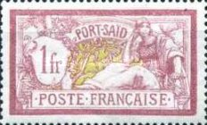[French Postage Stamps of 1900 -