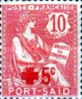 [Red Cross -  No. 23 Overprinted & Surcharged, type G]