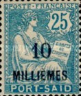 [Postage Stamps of 1902-1903 Surcharged