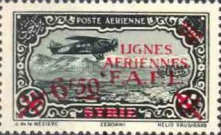 [Airmail - Syrian Airmail Stamps Surcharged, type L1]
