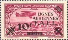 [Airmail - Syrian Airmail Stamps Surcharged, type L3]