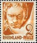 [As 1947-1948 edition but Without PF, Typ AA]