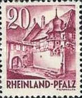 [As 1947-1948 edition but Without PF, Typ AG]