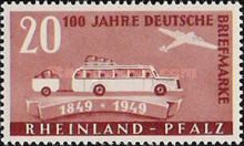 [The 100th Anniversary of the First German Stamp, type AO]
