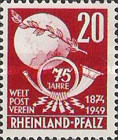 [The 75th Anniversary of the Universal Postal Union, Typ AP]