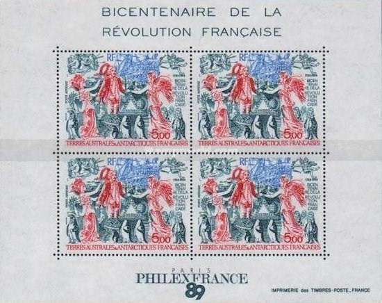 [Airmail - The 200th Anniversary of French Revolution, type ]