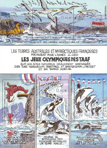 [The French Southern Antarctic Olympic Games, type ]