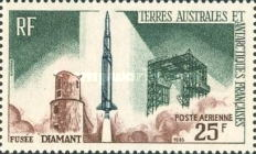 [Airmail - Launching of 1st French Satellite, type AA]