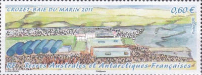 [The 50th Anniversary of the Settlement on Crozet Islands, type AAU]