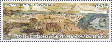 [The 50th Anniversary of the Settlement on Crozet Islands, type AAV]
