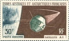 [Airmail - Launching of 1st French Satellite, type AB]