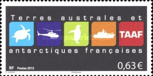 [Logos of French South and Antarctic Territory, type ADI]