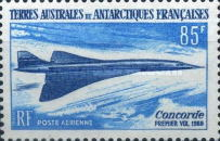 [Airmail - The 1st Flight of Concorde, type AS]