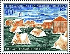 [Airmail - The 20th Anniversary of Port-aux-Francais, Kerguelen, type BG]