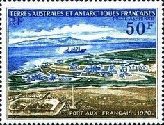 [Airmail - The 20th Anniversary of Port-aux-Francais, Kerguelen, type BH]