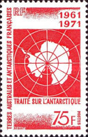 [The 10th Anniversary of Antarctic Treaty, type BI]