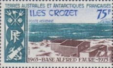 [The 10th Anniversary of Alfred Faure Base, Crozet Archipelago, type CE]