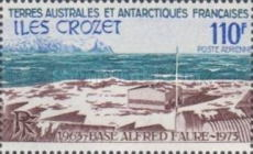 [The 10th Anniversary of Alfred Faure Base, Crozet Archipelago, type CF]