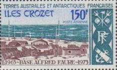 [The 10th Anniversary of Alfred Faure Base, Crozet Archipelago, type CG]