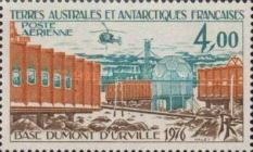 [Airmail - The 20th Anniversary of Dumont d'Urville Base, Adelie Land, type CR]