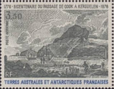 [Airmail - The 200th Anniversary of the Discovery of The Kerguelen Islands by James Cook, type DB]