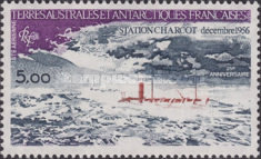 [Airmail - The 25th Anniversary of Charcot Antarctic Station, type EX]