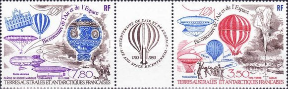 [Airmail - The 200th Anniversary of Manned Flight - Airships & Balloons, type FV]