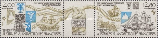[Airmail - The 30th Anniversary of French Southern and Antarctic Territories, type GI]
