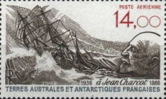 [Airmail - The 50th Anniversary of the Death of Jean Charcot (Explorer), 1867-1936, type GS]