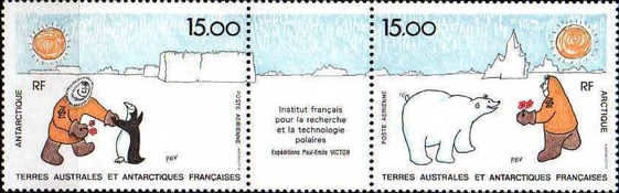 [Airmail - French Institute for Polar Research and Technology, type JG]