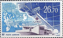 [Airmail - National Centre for Space Study Satellite Station, Kerguelen, type KT]
